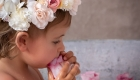 Photo bain de lait bébé, baignoire zinc fleur aix en provence-2