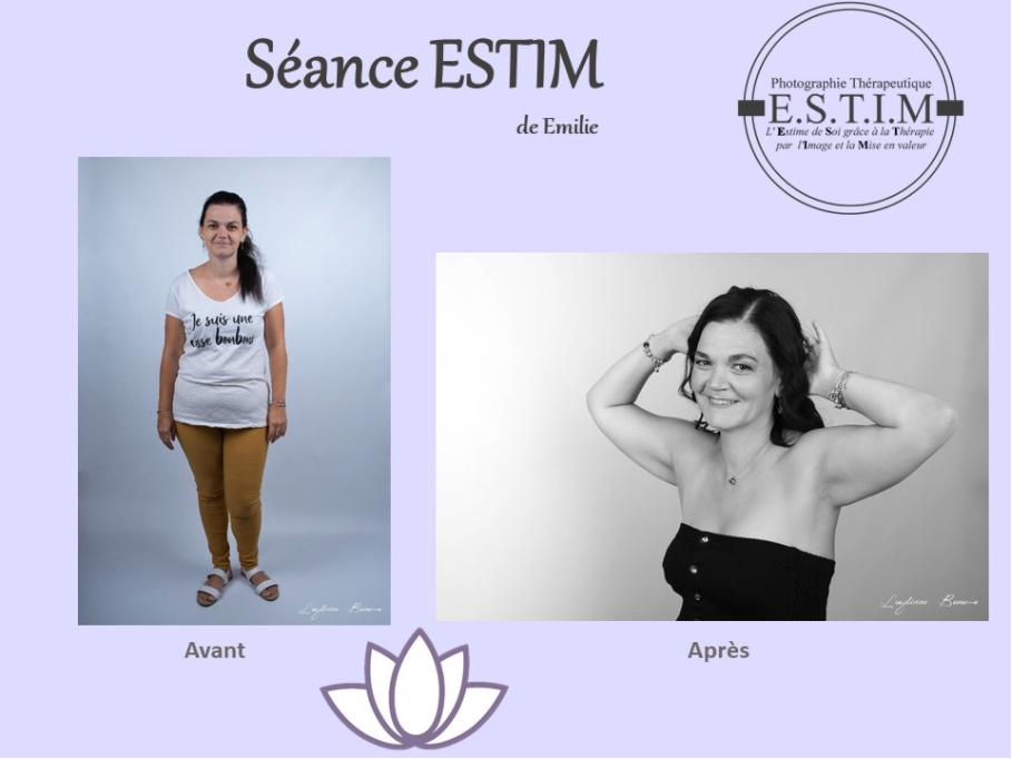 Photo-Thérapie séance ESTIM d'Emilie