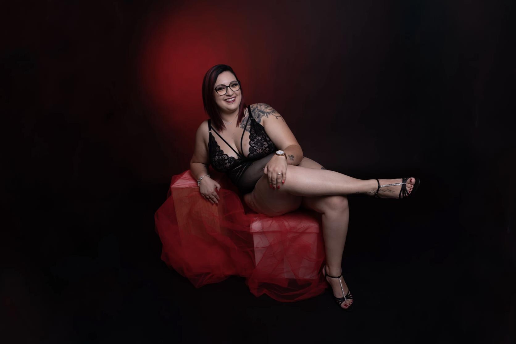 Photo-thérapie séance Estime de soi boudoir confiance féminité