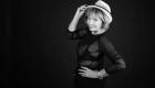 Photo noir et blanc chapeau portrait ESTIM photographie thérapeutique, Lugdivine Bonomo