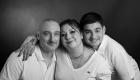 photo famille en studio NB Marseille