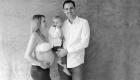 photo de famille shooting grossesse papa maman et grand frère Marseille